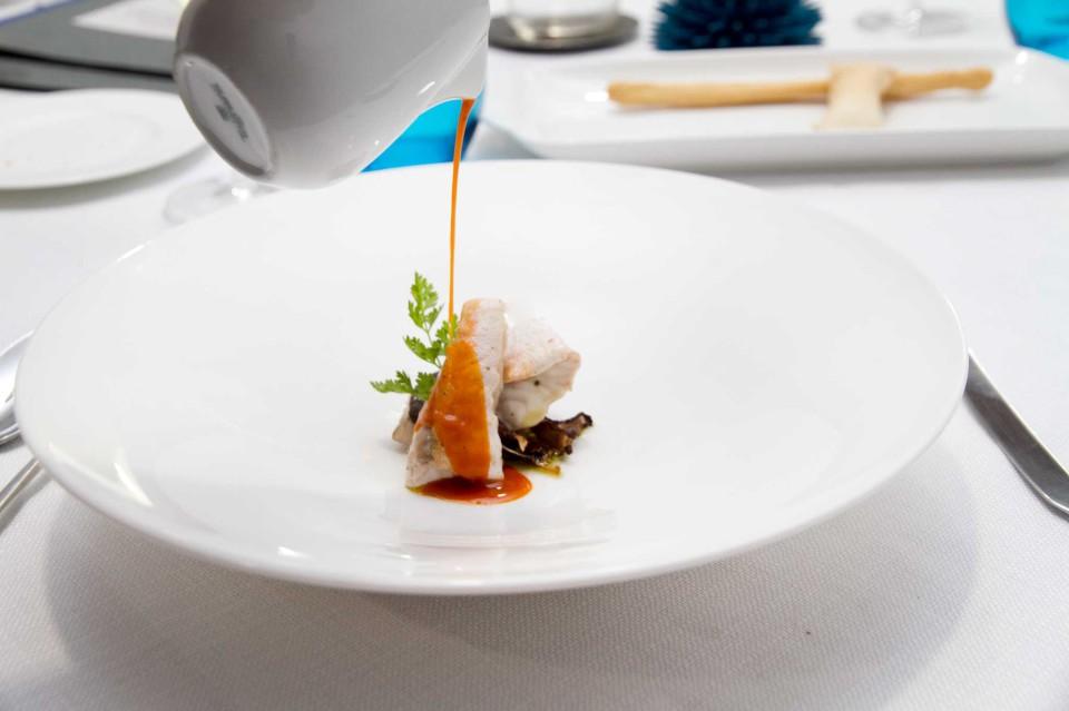 pesce porcini fagioli brodo