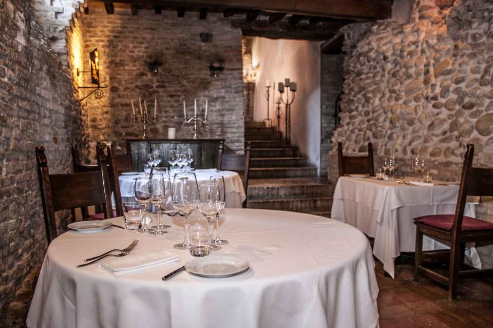 sala ristorante Montegridolfo