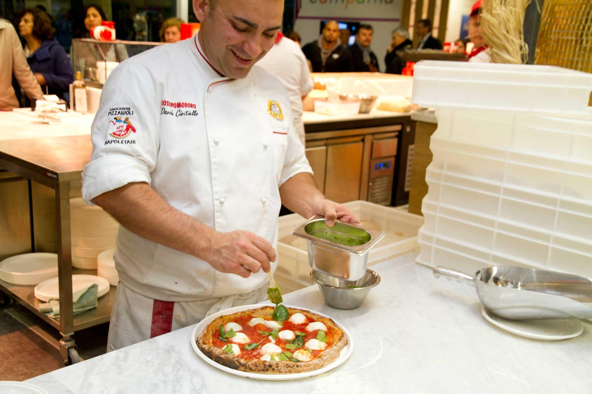 Davide Civitiello pizza vittoria Unesco
