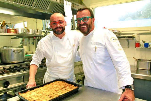 Federico Veronesi e Giancarlo Morelli