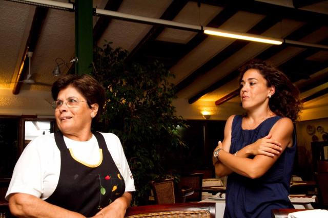 Maria Rina e la figlia