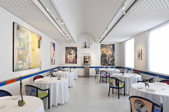 Sala ristorante Aimo e Nadia