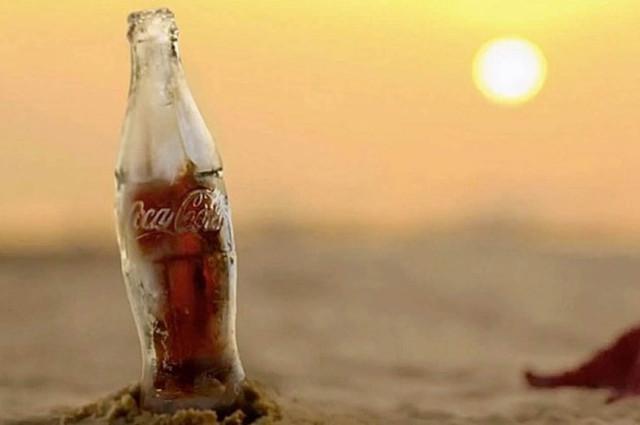 coca cola ghiacciata
