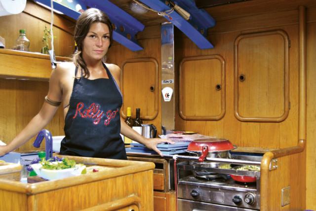 cucinare in barca