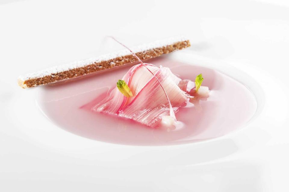 dolci ortaggi ravioli rabarbaro