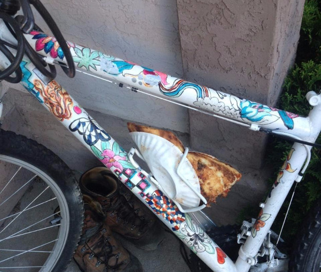 pizza e bici
