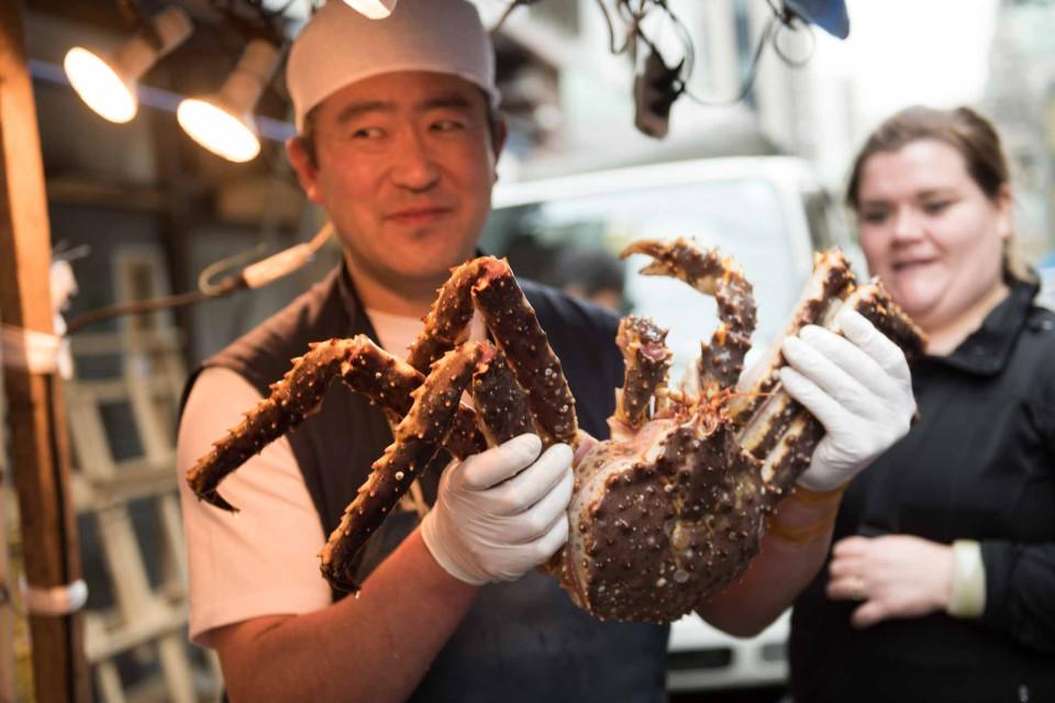 mercato pesce Tsukigi Tokyo
