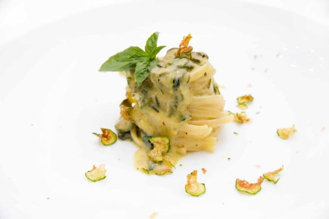 pasta e zucchine linguine