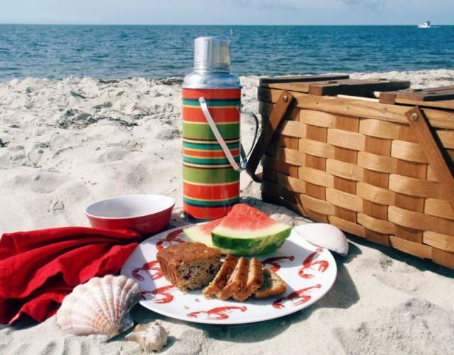 picnic spiaggia