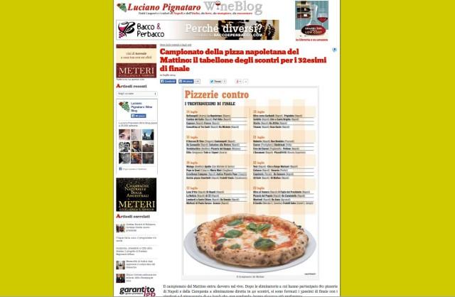 pizza rubata da Luciano Pignataro