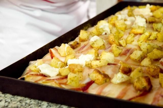 pizza teglia patate