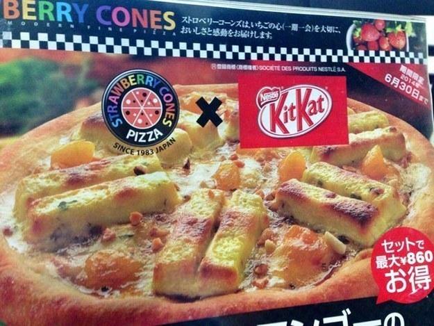 pizza kit kat
