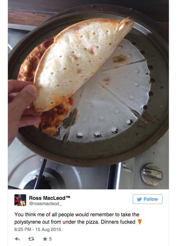 pizza plastica