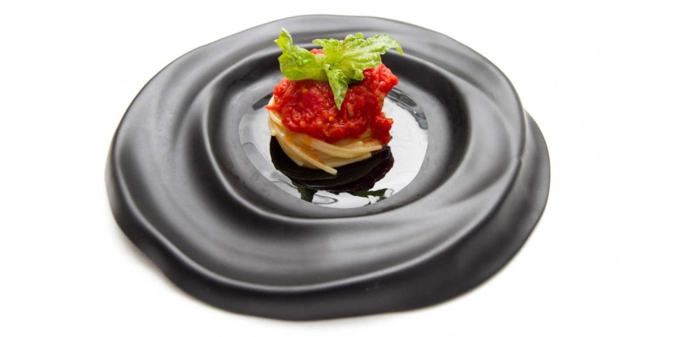spaghetti pomodoro Don Alfonso