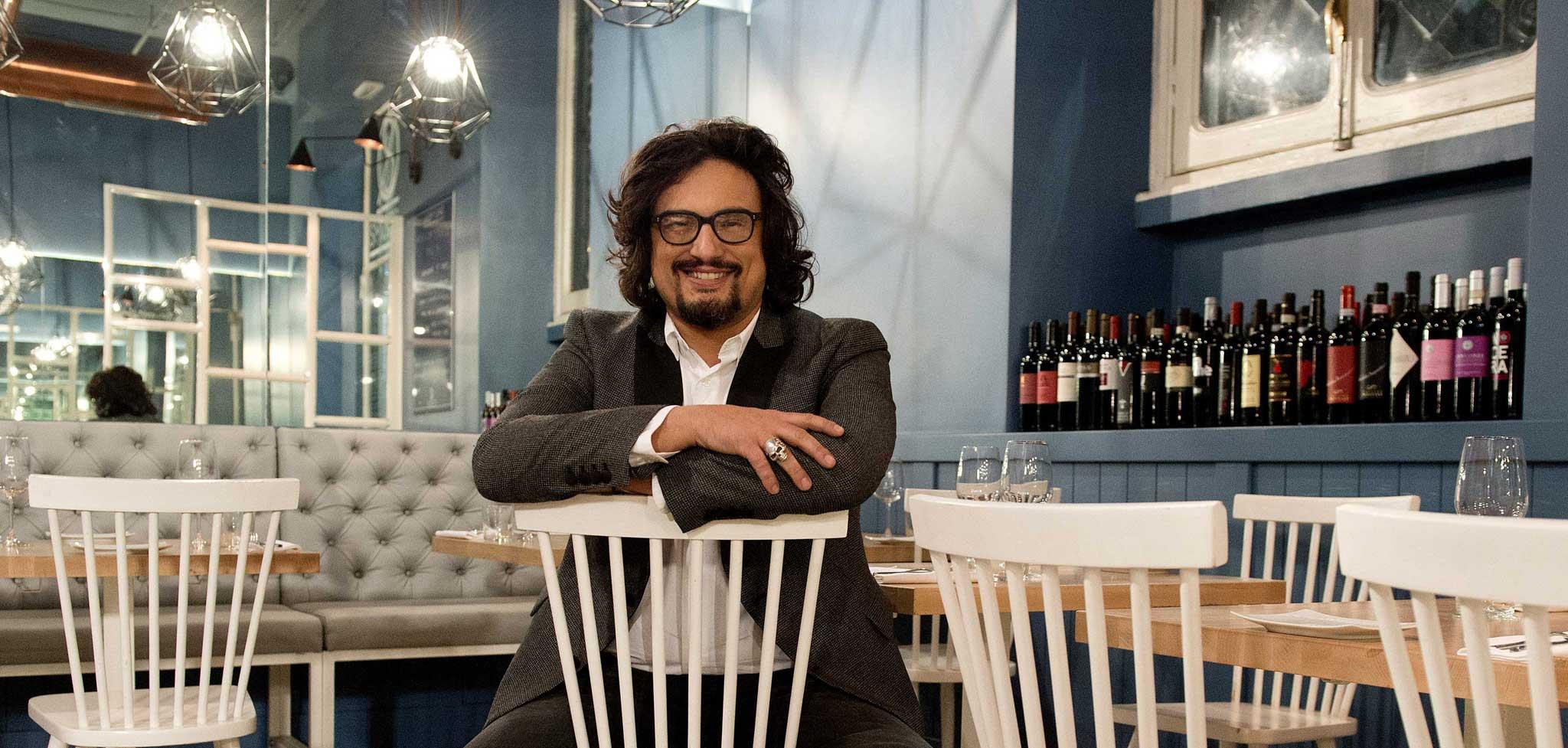 Alessandro borghese ritorna in tv con quattro ristoranti for Alessandro borghese milano