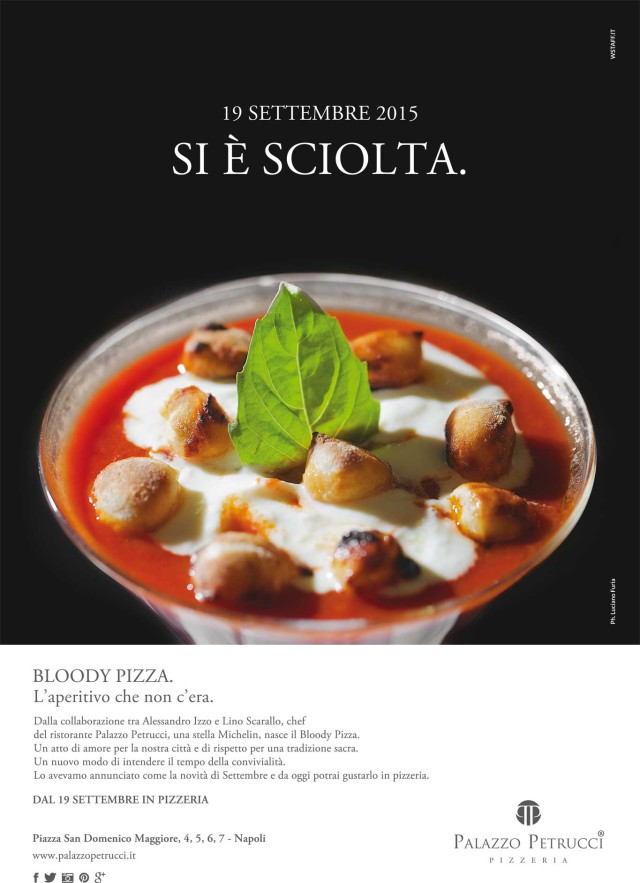 Bloody Pizza San Gennaro