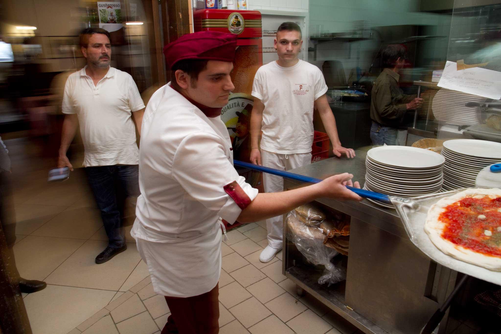 Carlo Sammarco pizzaiolo
