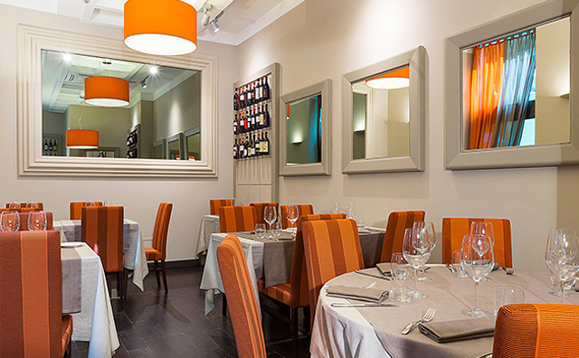 Doriani ristorante Milano sala