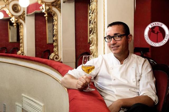 Gino Sorbillo testimonial vini del Sannio