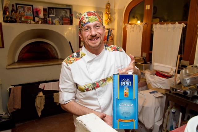 Giovanni Santarpia pizzaiolo