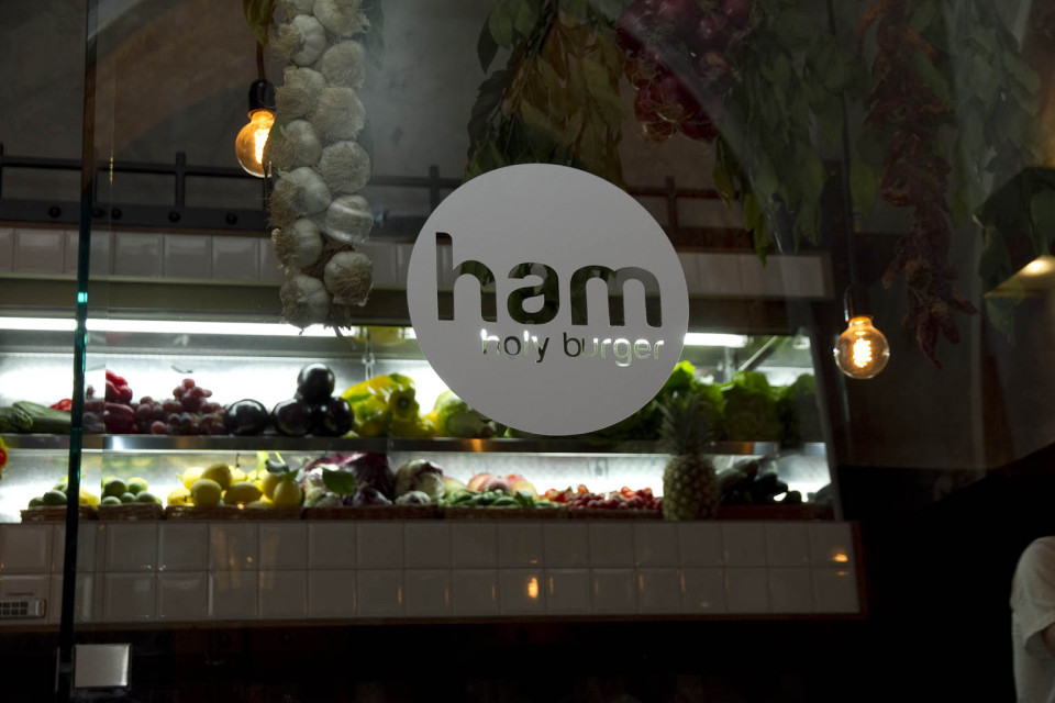 Ham Holy Burger Roma