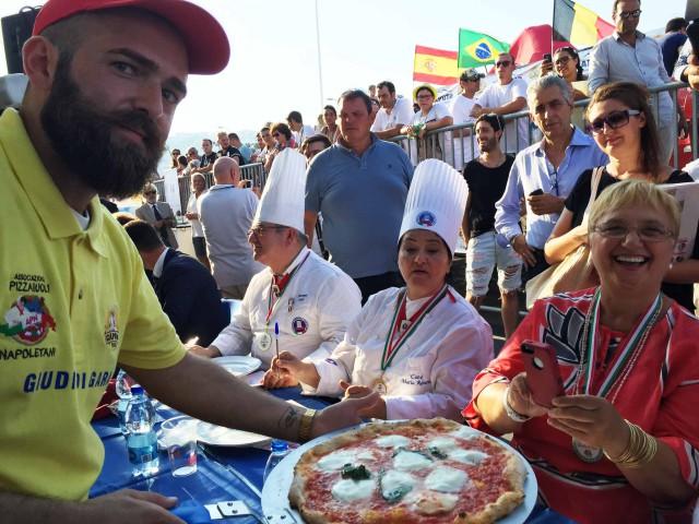 Lidia Bastianich Vincenzo Capuano pizza