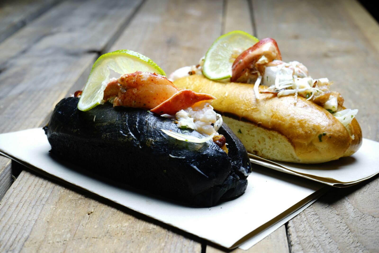 Lobster Rolls Ham Holy Burger