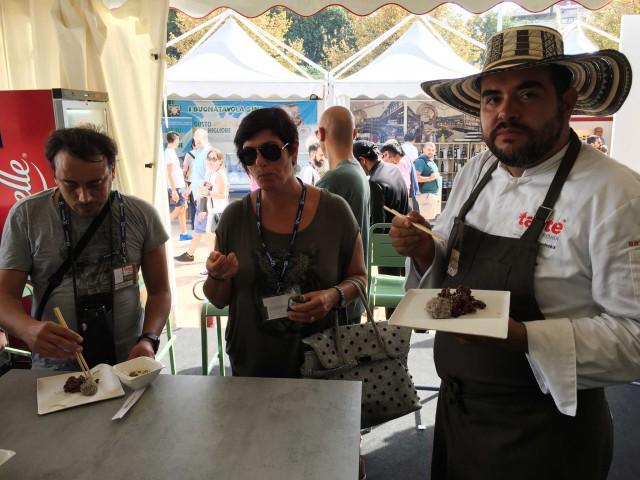 Roy Caceres da Scatti di Gusto Taste of Roma