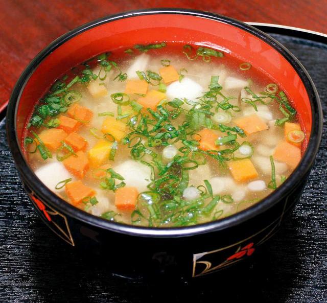 Sobagome Soup