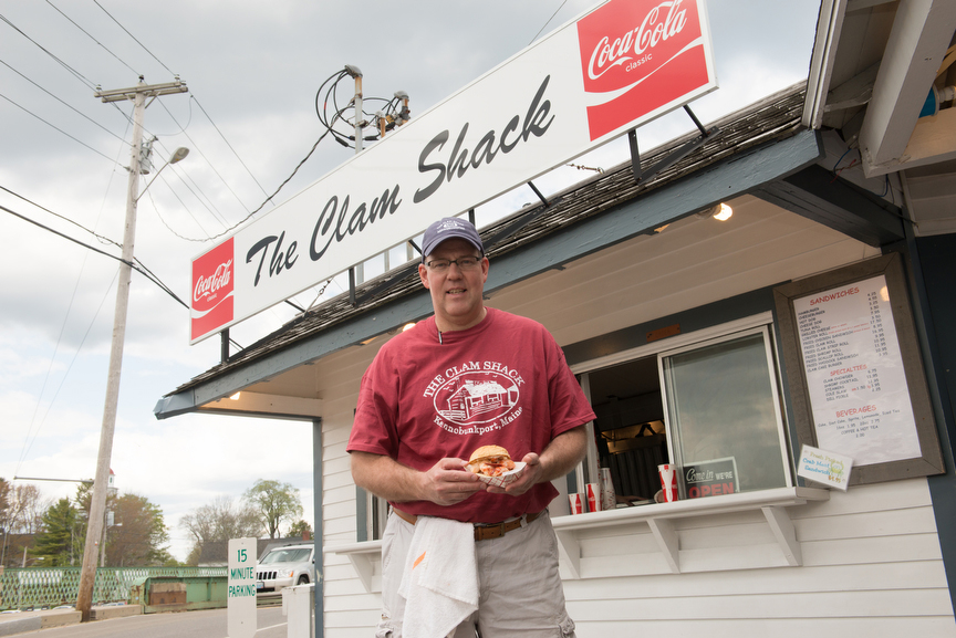 Steve Kingston The Clam Shack Kennebunkport Maine astice