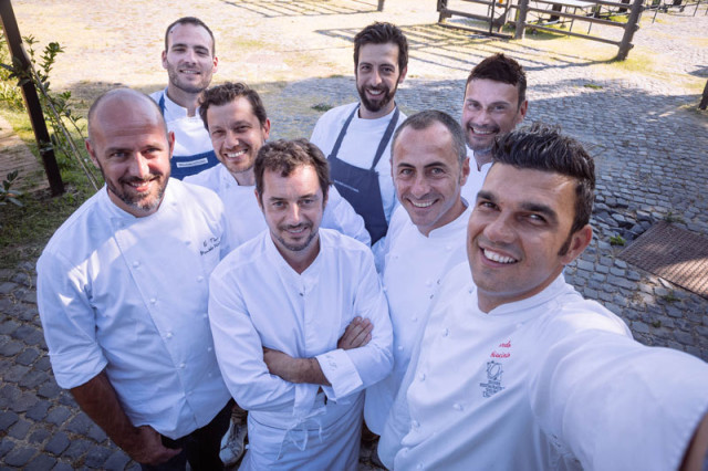 Taste of Roma 2015 chef selfie