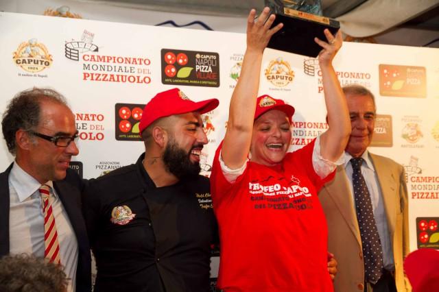 Teresa Iorio Campione Mondiale pizza Stg