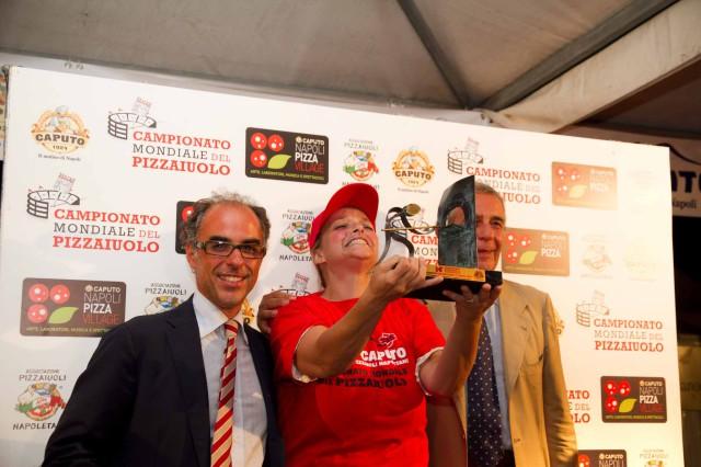 Teresa Iorio campione mondiale di pizza