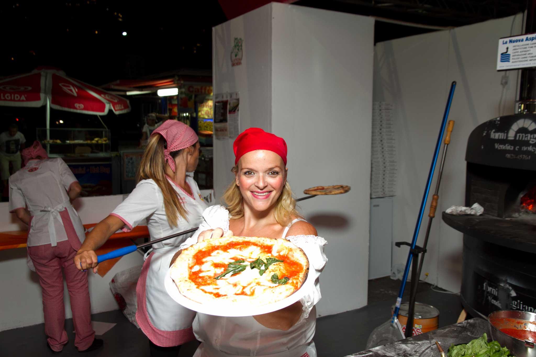 Teresa Iorio pizza margherita stg