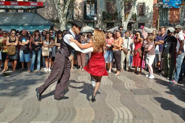 barcellona rambla flamenco