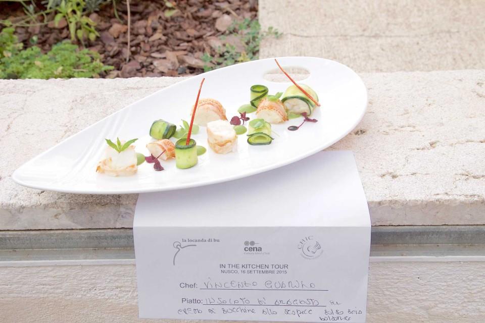 insalata di aragosta Vincenzo Guarino