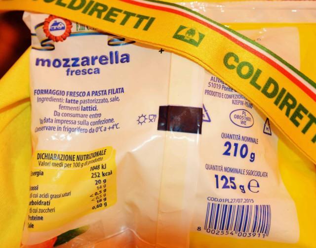mozzarella polonia