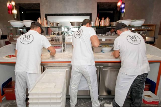 nuovo banco pizza Ciro Salvo