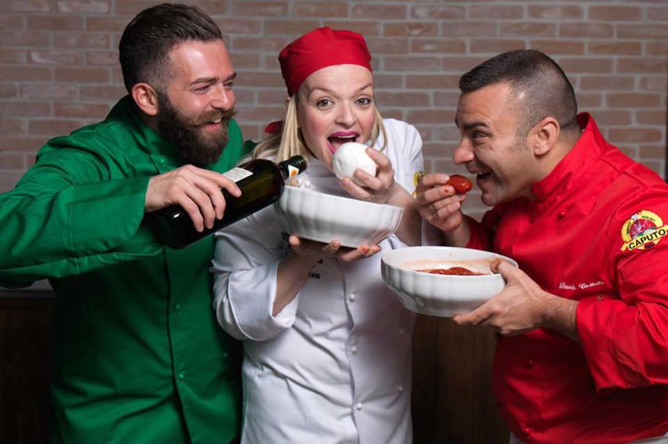 pizzaioli Capuano Iorio Civitiello