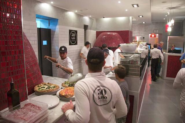pizzeria 50 Kalò nuova