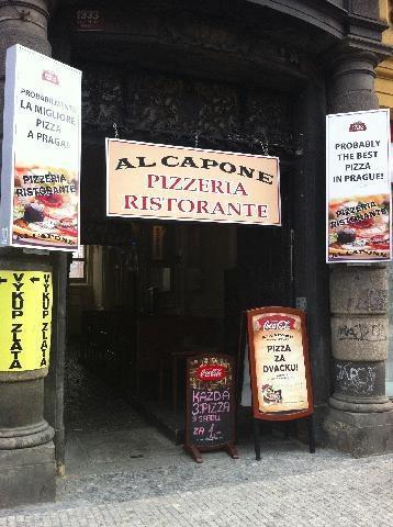 pizzeria Al Capone Praga