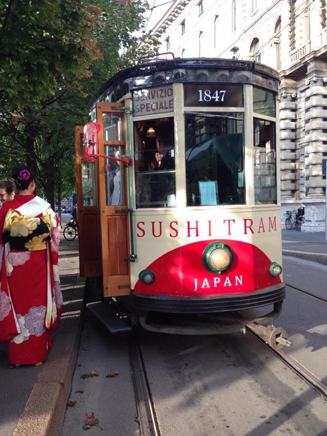 sushi su tram