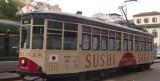 Milano. Degustazioni gratuite di sushi per chi prende il tram