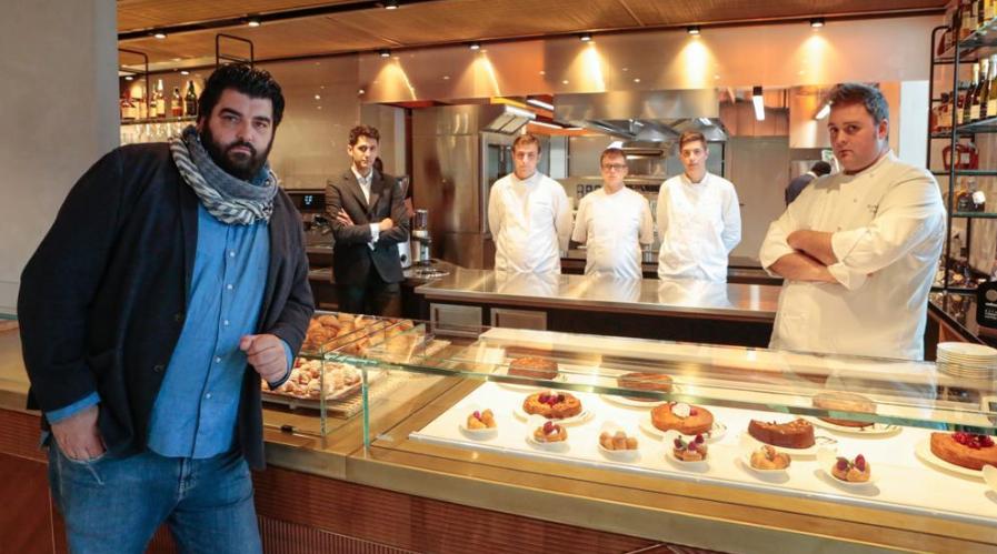 Antonino Cannavacciuolo cafè e bistrot novara