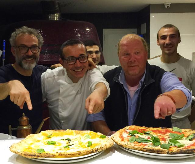 Bottura Sorbillo Batali pizza
