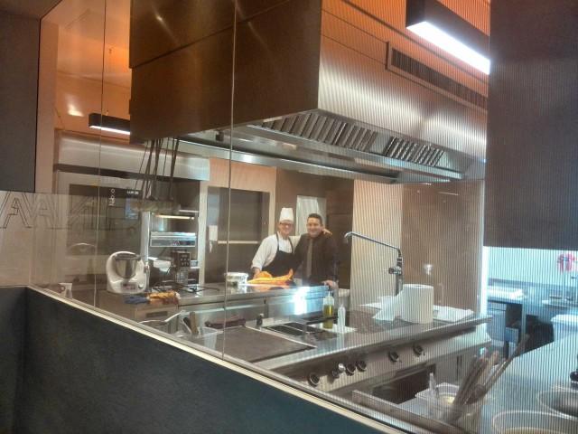Cannavacciuolo Café & Bistrot cucina
