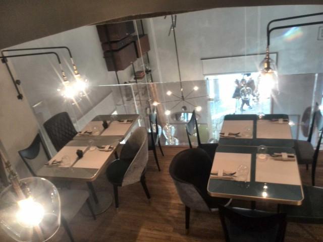 Cannavacciuolo Café & Bistrot tavoli