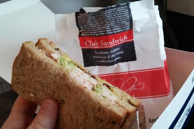 Club Sandwich Carlo Cracco trenitalia