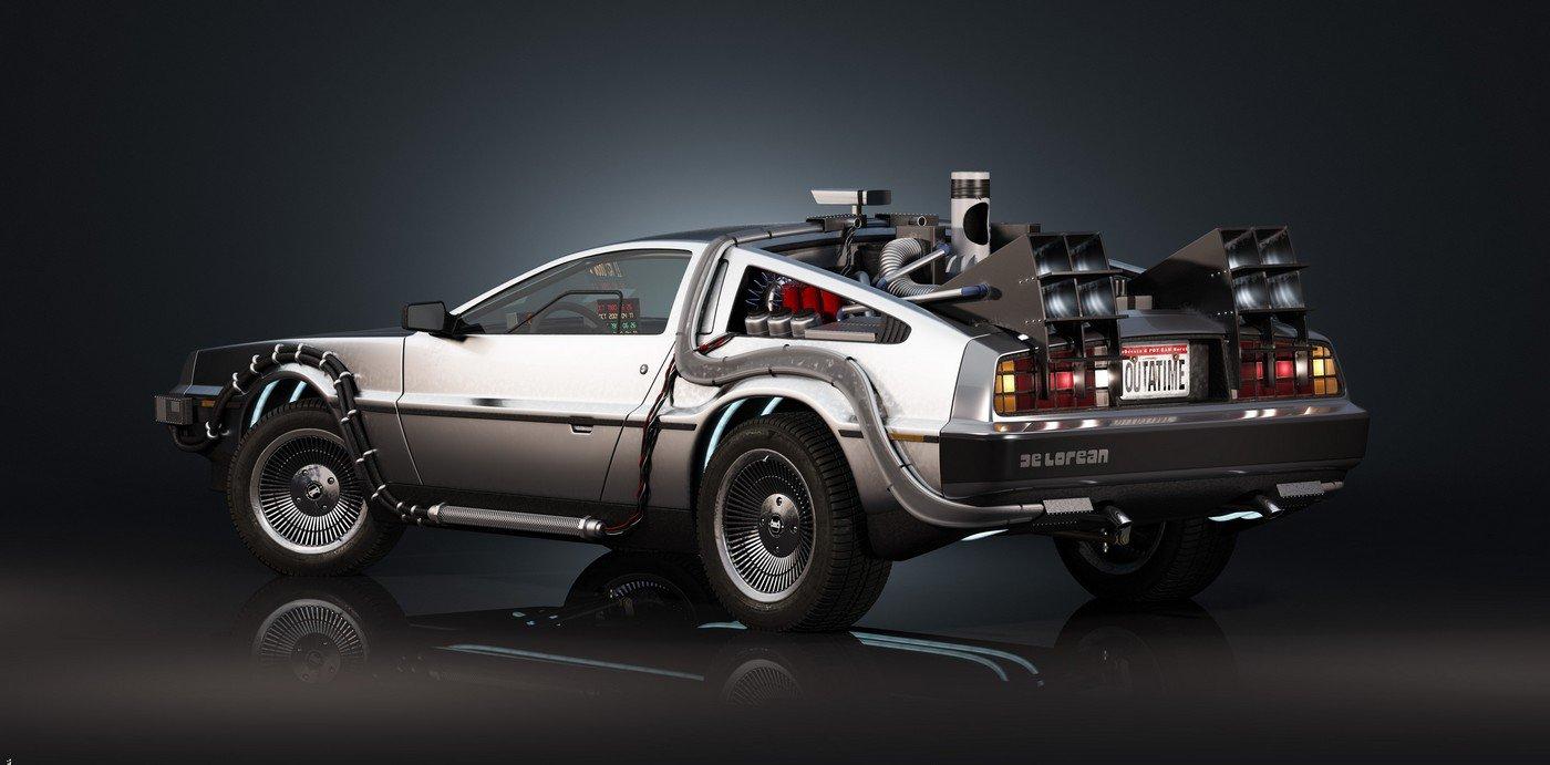 DeLorean Ritorno al Futuro