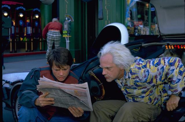 Doc e Mart Ritorno al Futuro